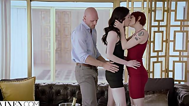 Adventurous Beauty Has Passionate Sex With A Power Couple