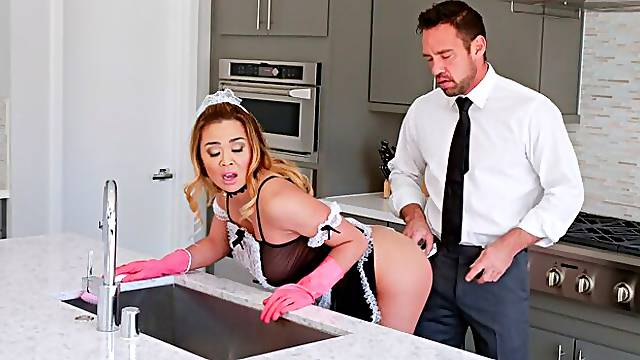 The Submissive Maid