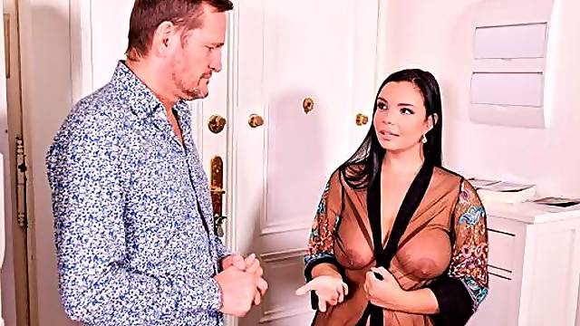 Horny Sofia Lee Gets All Holes Filled By Her Neighbors GP1669