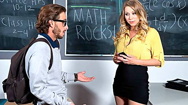 Katie Morgan gets a much needed fucking from her student