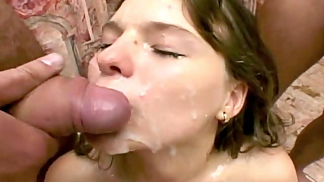 True demoness is fucking furiously in hardcore gangbang porn video