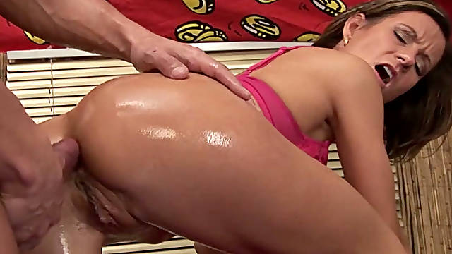 Horny short-haired mature slut gets her pussy banged by a young muscle man