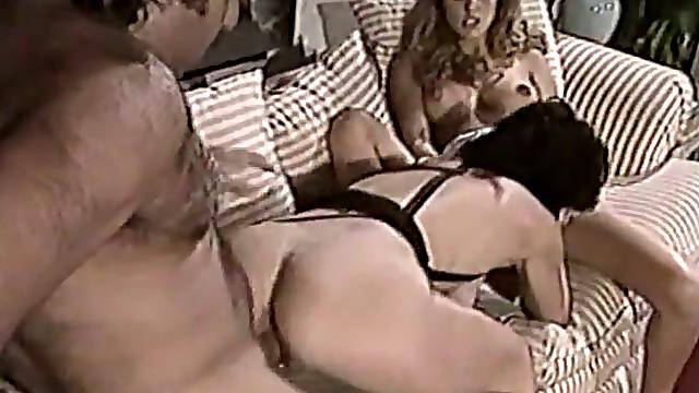 Kinky mature couple enjoys dirty 3 some with busty hermaphrodite