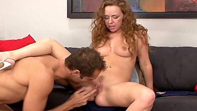 Seductive porn star Leighlani Red fucks Eric Swiss fiercely
