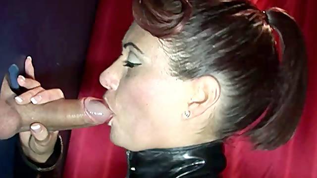 Gloryhole anal sluts like it harder