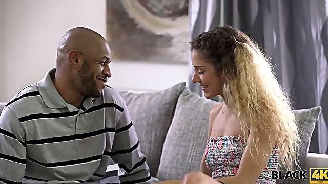 Horny BBC fucks sex-appeal Hungarian hottie Monique Woods