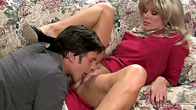 Luscious MILF India Summer gives head to Anthony Rosano