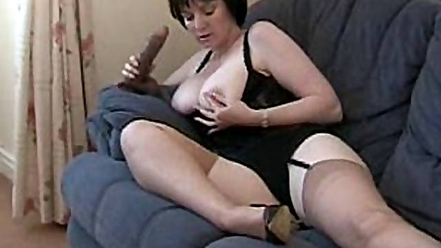 Mature in Nylons