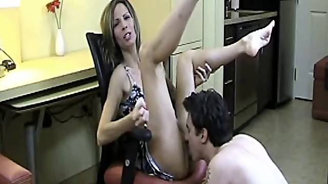 Watch me get licked jerk off instructions JOI
