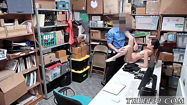 Caught pissing public compilation and police uniform threesome Habitual Theft