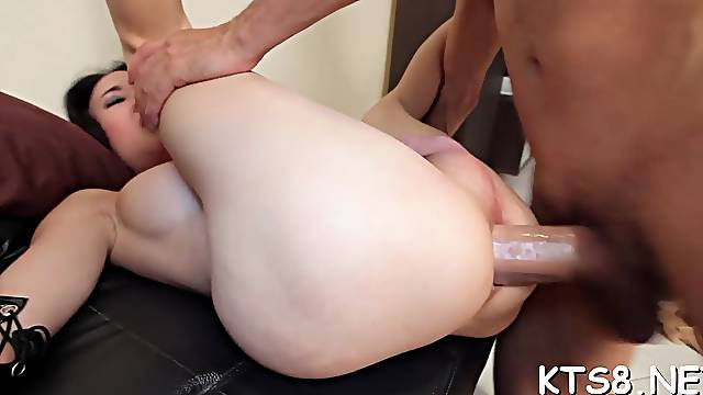 Delectable asian may and agile guy