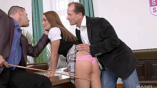 DP action shows redhead in all her glory