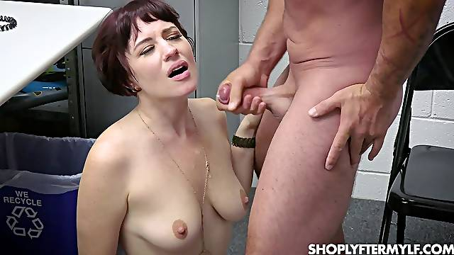 Gagged busty amateur wants to get out of here ASAP