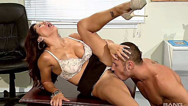 Mature teacher gets naughty with one of her students