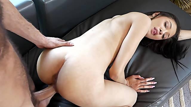 Sweet babe has insane pussy grip