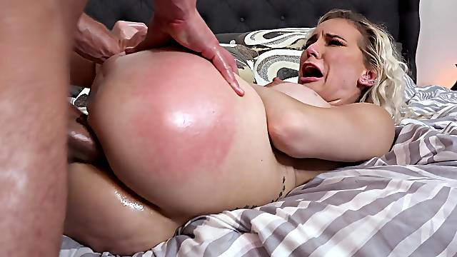 MILF rides fast and gets nailed in the ass
