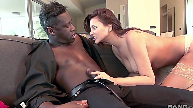 Anissa Kate was craving a black cock, and this stud delivered