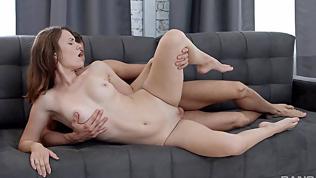 Stunning Sofy Topp takes on a big dick and loves every moment