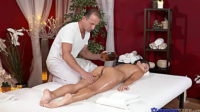 Erotic massage shag for gorgeous brunette Shrima Malati