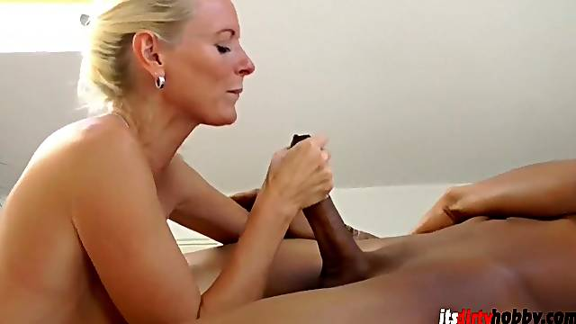 German MILF And Young Black