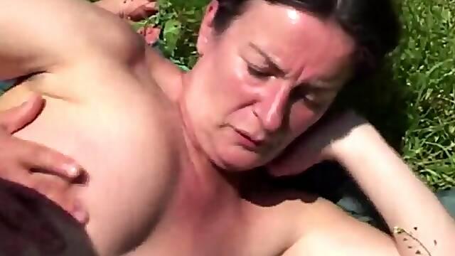 Mature facial outdoor