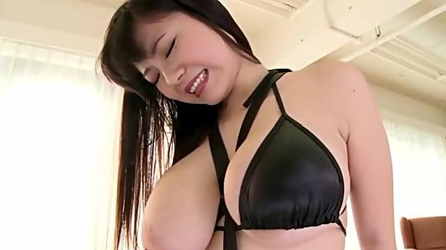 Lucky Customer Sucking On Big Tits