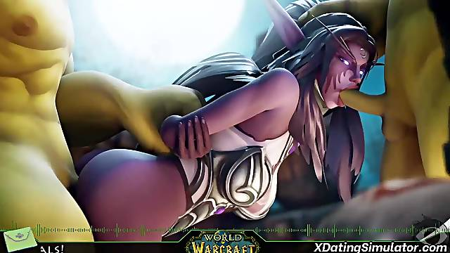 3D game heroes sex compilation