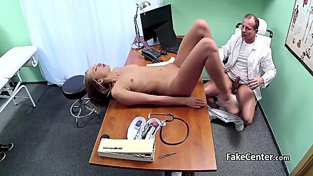 Babe got cock intstead of exam