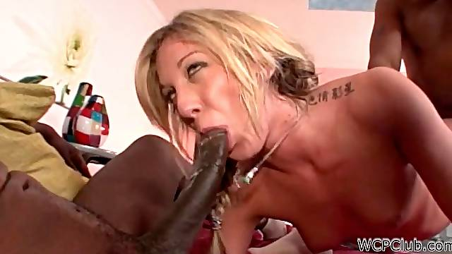 Amy Brooke double penetration with black cocks