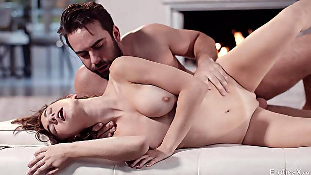 Bearded man makes the young amateur to feel amazing
