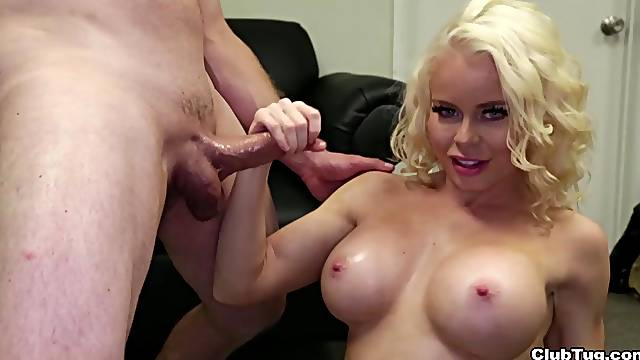 Busty cougar sucks dick harder than expected