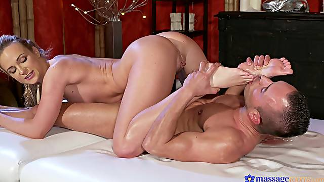 Massage and premium foot fetish orgasms