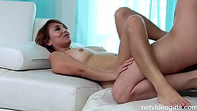 Well dressed amateur fucked in casting porn