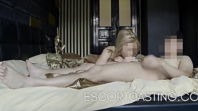Blonde Teen Escort Filmed Anal