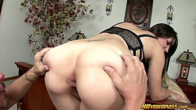 Tall milf wants anal treatment