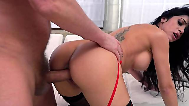 Dark-haired Spanish slut is always ready for promiscuous sex