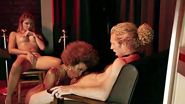Demi Sutra has sex with Gizelle Blanco and then Michael Vegas