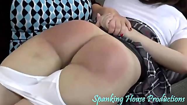 spanking action