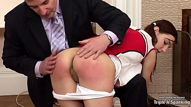 Cheerleader Audition - Spanking Porn Clip