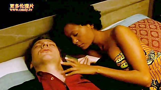 hot nubian beauty in erotic movie