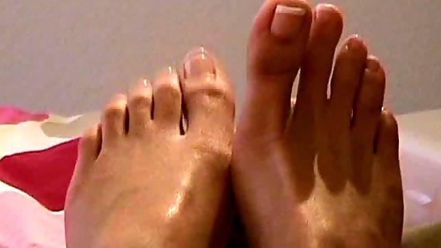 Teeny Has A Foot Fetish