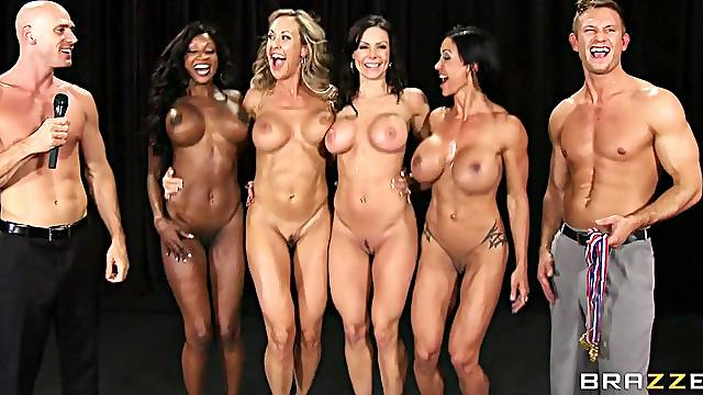 A contest to see which of these chicks has the best tits