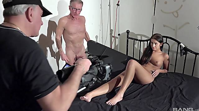 Loren Minardi penetrated by nasty old lovers with hard dicks