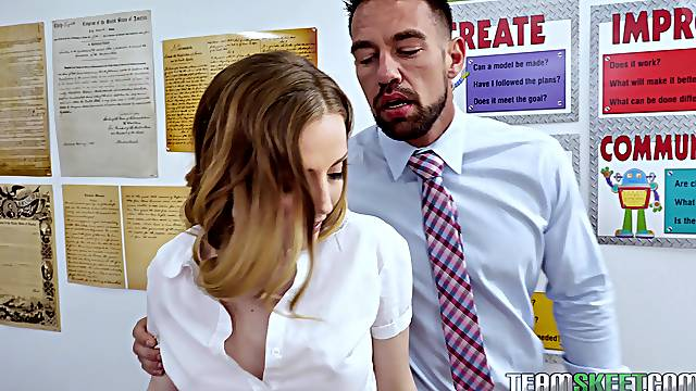Karla Kush has to moan loudly while a friend fucks her tight ass