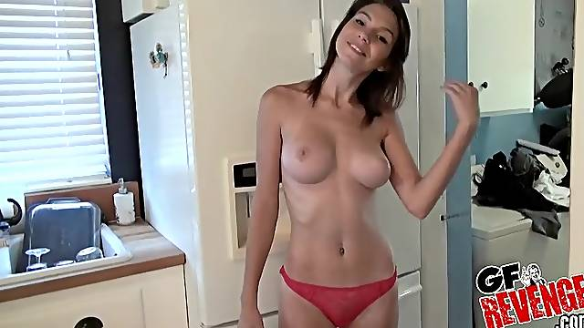 Cece Capella can take a fat dick in her tight shaved pussy