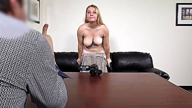 Cute girl Owen gets talked into banging with a stranger