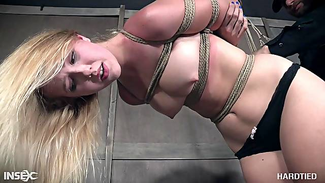 Samantha Rone hanged upside down and abused hardcore