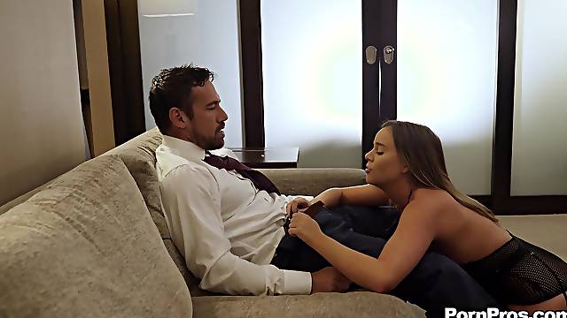 blowjob and fingering are the best preparations for wild girl Alexis Adams
