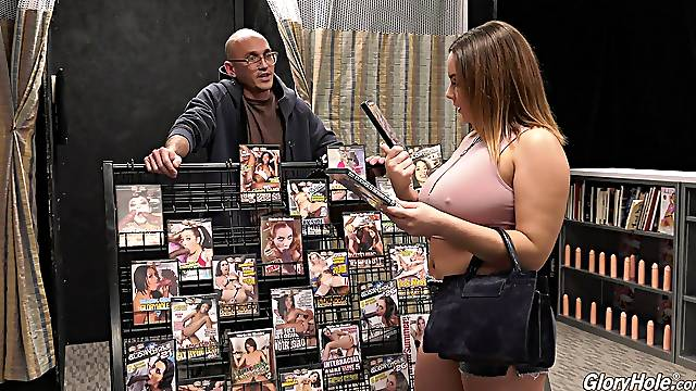 Black dude got surprised with a blowjob and hand job by Natasha Nice