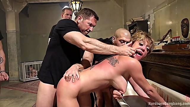 Double penetration can satisfy sexual desires of horny Xander Corvus